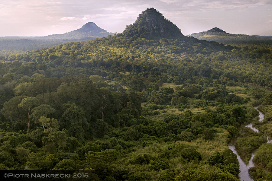 Bunga Inselbergs in Gorongosa National Park, Mozambique